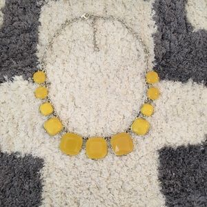 Yellow cube necklace!